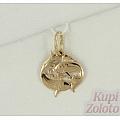 Подвеска «Знак зодиака Рыбы» из золота